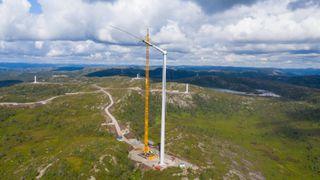 7,1 TWh ny kraft i fjor. 86 prosent var vindkraft