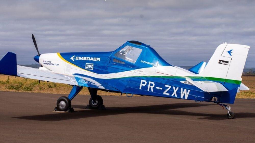 Embraer skal bygge et elektrisk demonstrasjonsfly basert på EMB-203 som etter planen skal fly første gang i 2020.
