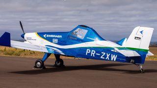 Embraer feirer 50 år med å bygge om landbruksfly til elektrisk drift
