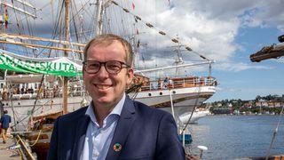 To måneder i sjefsstolen: Håkon Haugli er positivt overrasket over Innovasjon Norge