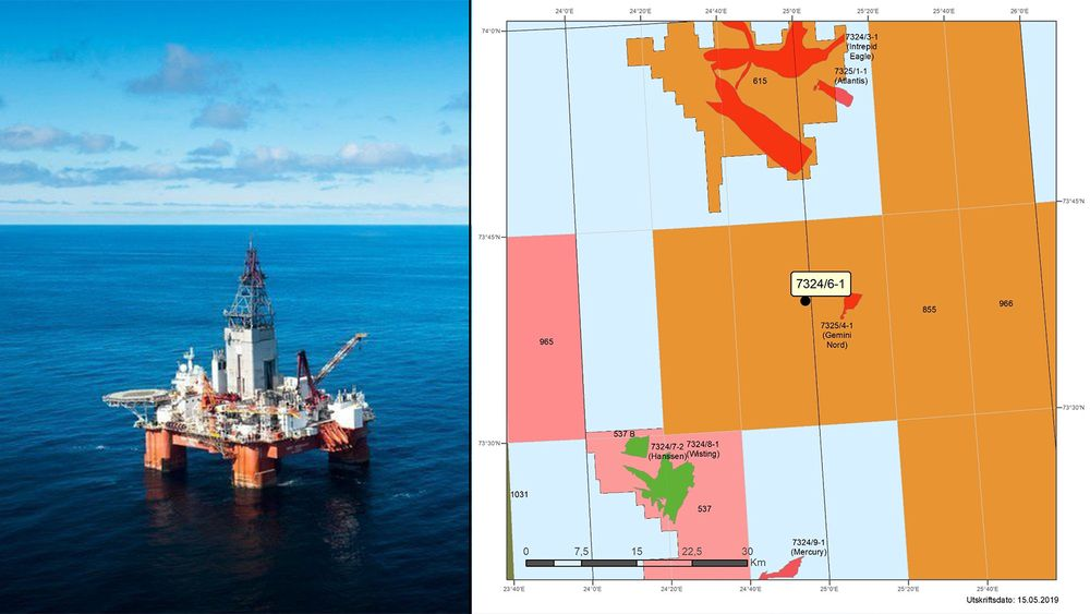 Det er funnet mer olje i nærheten av Wisting-feltet i Barnetshavet, i letebrønnen Sputnik.