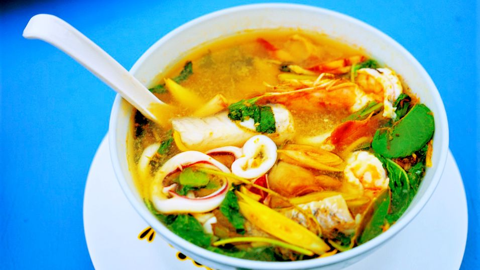 DAGENS RETT: Thai hot and sour fiskesuppe