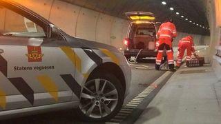 Vegvesenet tester ut redusert tunnelvask: Sparer 873.000 kroner på en halv tunnel