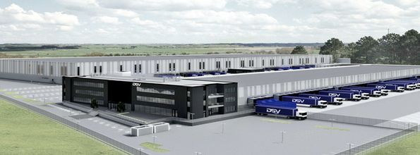 Logistic Contractor bygger for DSV