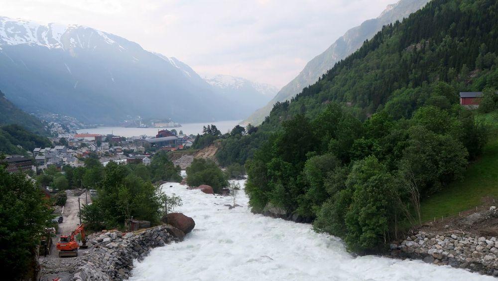 Nedbørsrike Odda kommune har nok vann, men også størst andel lekkasjer fra vannledningsnettet.