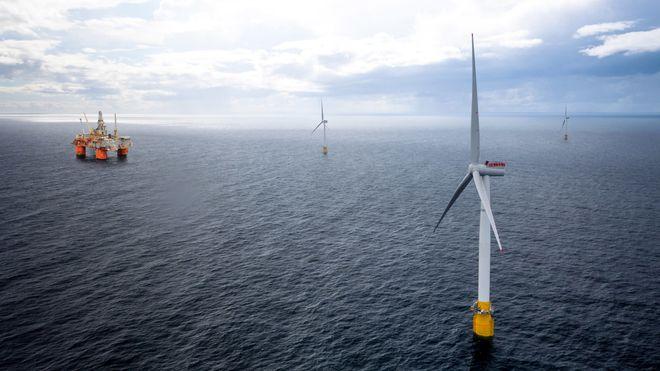 Havvind-prosjektet til 5 mrd. kroner skal kutte 200.000 tonn CO2 i året.Men feltene slipper ut nesten 1,2 millioner tonn