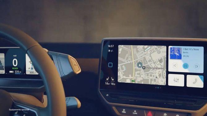 Flere VW-agenter la ut en promovideo som viste interiøret på ID.3. Videoen ble raskt fjernet.