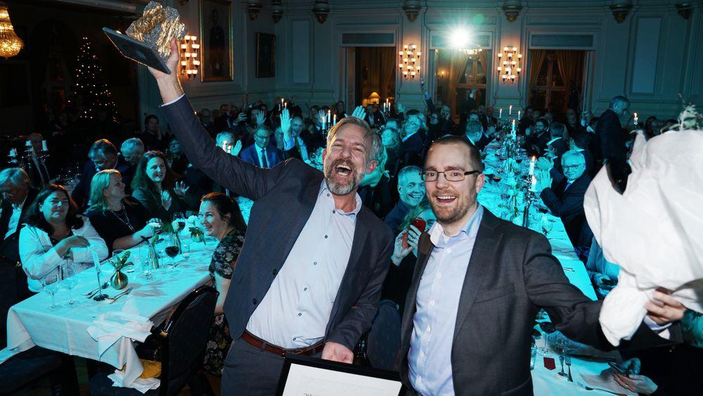 Oppstartselskapet Zivid med 3D maskinsyn vant hovedprisen under Norwegian Technology Awards i 2018.