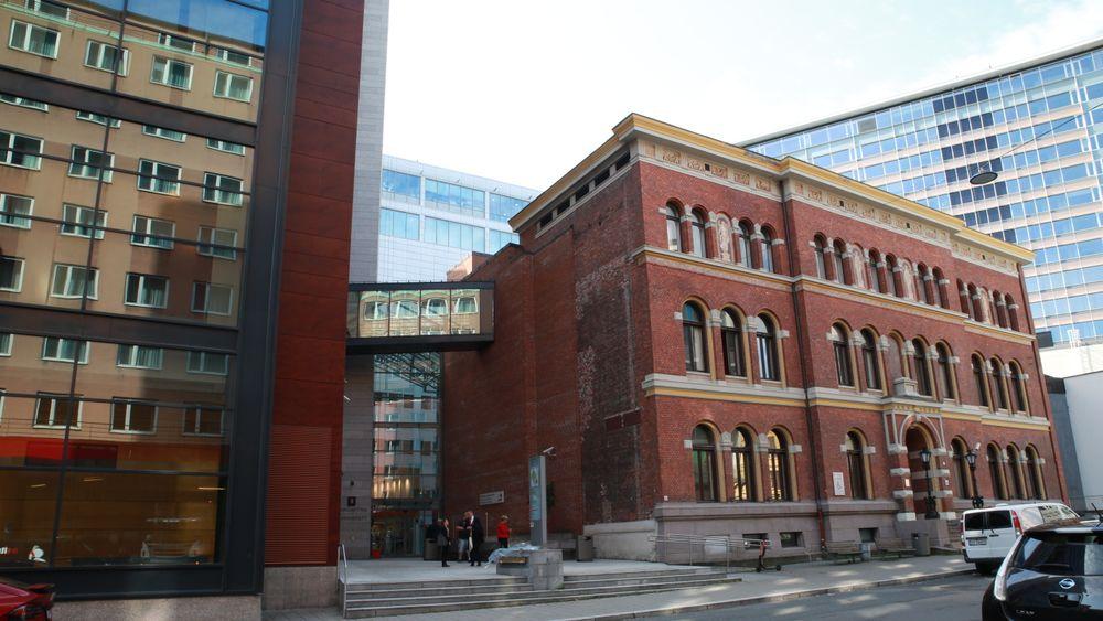 De to byggene Munchs gate 4 og Keysers gate 13 huser Borgarting lagmansrett.