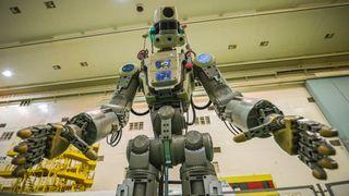 Russisk robot klarte ikke å koble seg til romstasjon