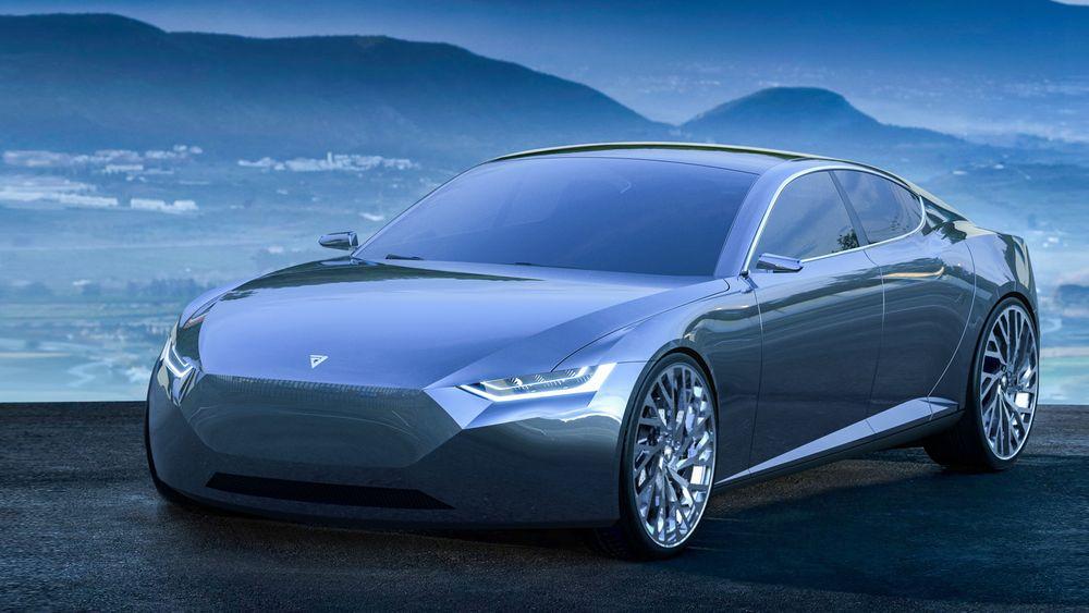 Fresco Motors har fått mye honnør for de digitale illustrasjonene av Reverie. Drømmen er 1000 km rekkevidde og en toppfart på 300 km/t.
