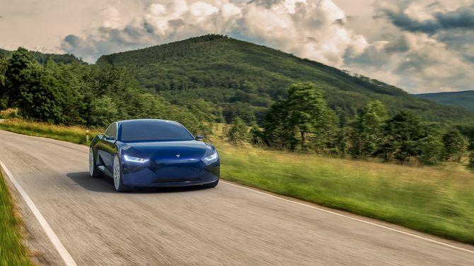 Fresco Motors mener at Reverie vil gå 0-100 km/t på sekunder, og ha toppfart på 300 km/t.