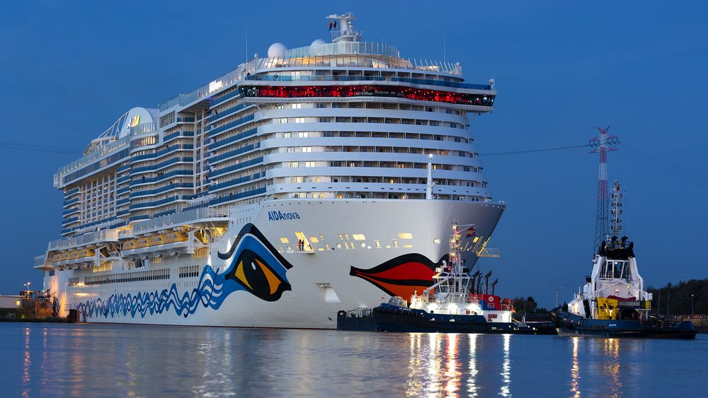 Aidanova er første cruiseskip bygget med LNG-motorer. Michael Thamm ser til Norge som pådriver. Norge var først med LNG-ferge i 2000, batterieferge i 2015 og hydrogen i 2021.