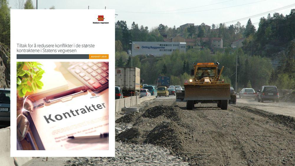 Med fem konkrete tiltakspunkter håper Vegvesenet og EBA på å redusere konfliktene i norske veiprosjekter.