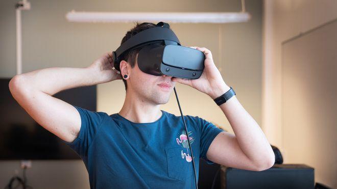 Får se den nye arbeidsplassen lenge før den er bygget: – VR minsker vår naturlige endringsfrykt