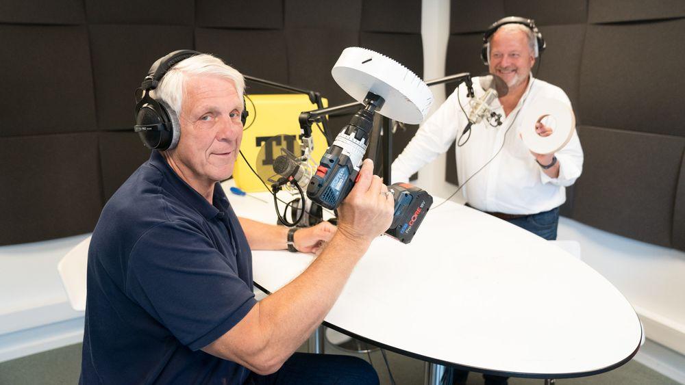 Denne gangen har Odd Richard med seg verktøy i podcast-studio.