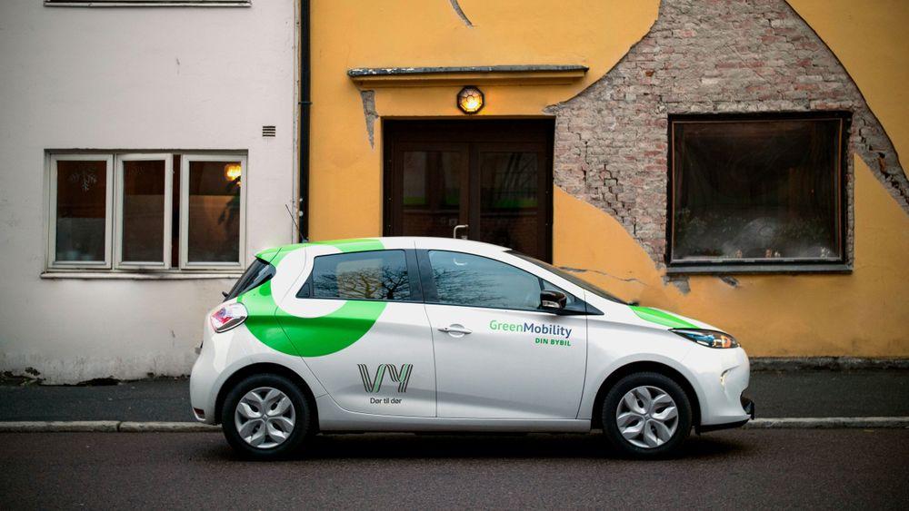 Brukerne kan hente og sette fra seg bybiler på alle lovlige parkeringsplasser i Oslo sentrum.