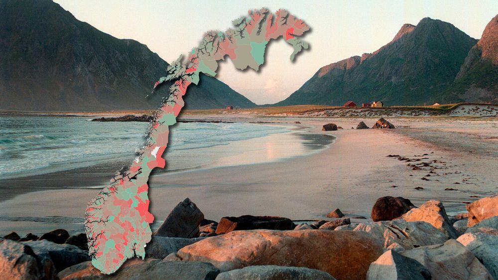 Flakstad kommune i Lofoten har Norges dyreste vann.