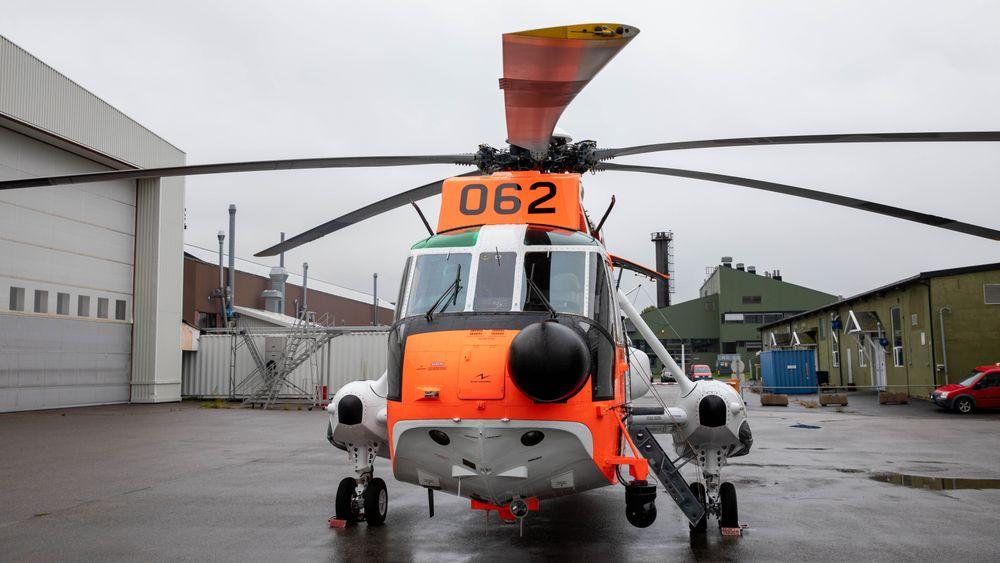 Sea King 062 er det sjuende og siste redningshelikopteret som har gått gjennom oppgraderingsprogrammet Sea King 2020.