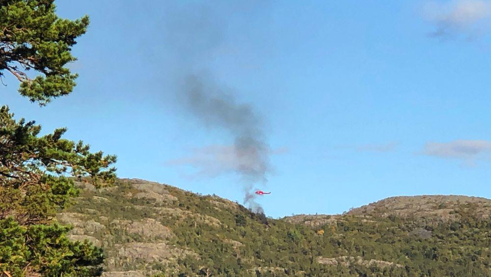Et helikopter har styrtet like sørvest for Alta, opplyser Hovedredningssentralen Nord-Norge, som har fått melding om seks personer om bord. En SeaKing og en luftambulanse er sendt til ulykkesstedet.