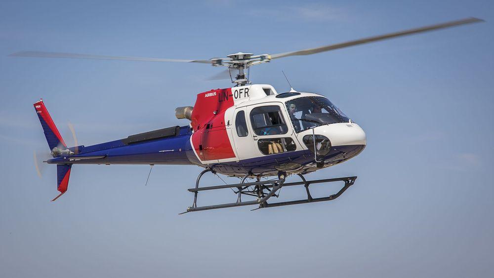 Det var et tilsvarende H125-helikopter som havarerte i Alta 31. august.