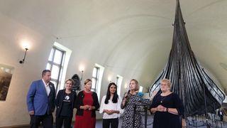 Klarsignal til nytt vikingtidsmuseum:– Nå starter et svært viktig og komplekst byggeprosjekt