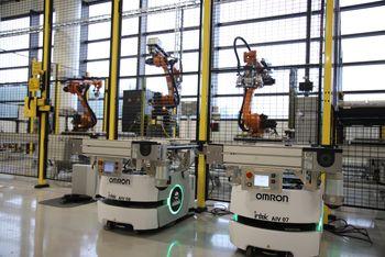 Corvus - åpner batterifabrikk i Bergen 5. september 2019 - total kapasitet opp mot 400 MWh. Intek på Raufoss har levert roboter og utviklet verktøy og automatiseringssystem. 13 roboter i ni celler.