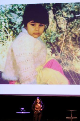 Angelica Kjos var fire år gammel da hun kom til Norge, og overgrepene startet. Dette bildet er tatt i barnehagen.