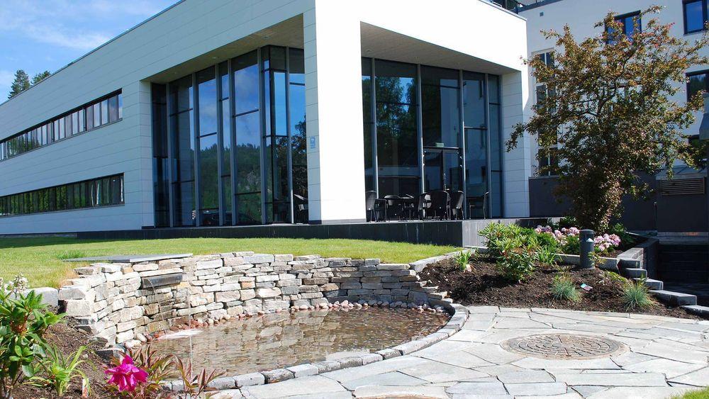 Det nye bygget til Notodden Energi er blant Eik Entreprenørs mange referansebygg.