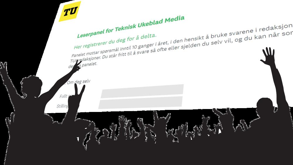 Et stort leserpanel vil styrke journalistikken til TU.no