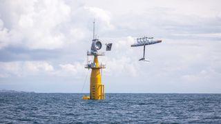 Google-selskapets flyvende vindturbin med vingespenn på 26 meter havarerte i Nordsjøen. Det stopper ikke Makani