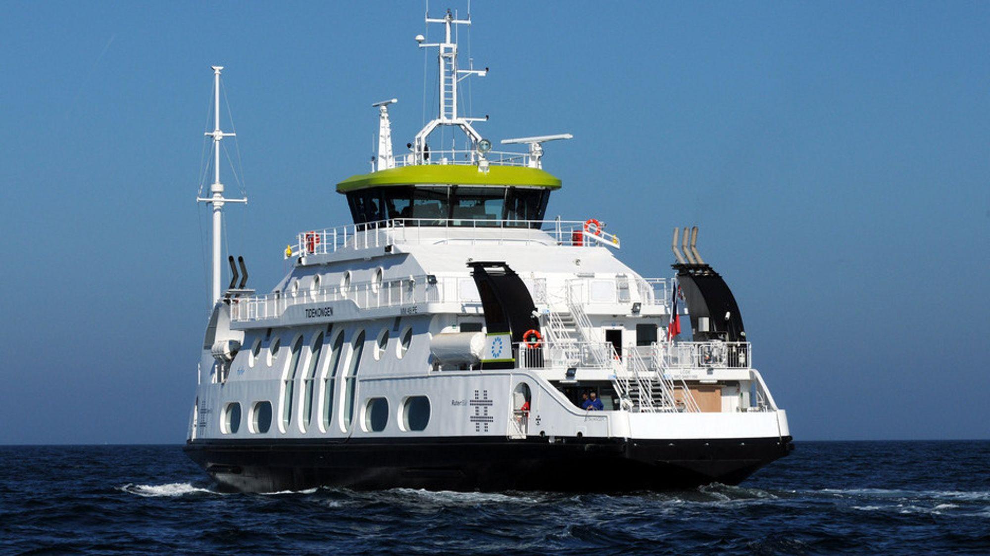 MS Kongen - som het Tidekongen da den kom til Oslo i 2009, er nå bygget om til batteridrift.