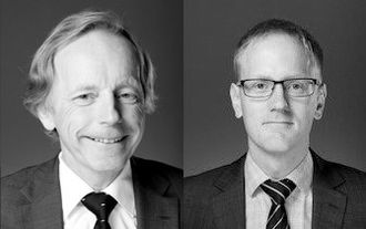 Jostein Ramse og Jarle Langeland i advokatfirmaet Føyen Torkilsen AS.