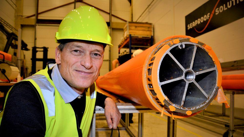 Henrik Bang-Andreasen var gründeren bak Seaproof Solutions. Bildet er tatt før eierskiftet i 2018.