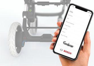 eStroller får en egen app, med blant annet kaféalarm.