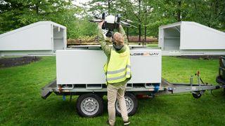 Nå kan selskaper bestille droner som en automatisk tjeneste: – Bruksområdene er nær ubegrensede