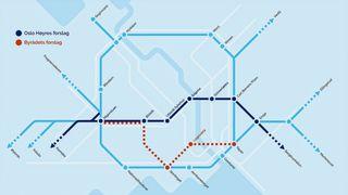En promille av Norge består av versting-bergarten. Ny T-banetunnel i Oslo går rett igjennom kjernen