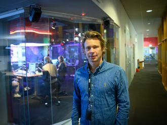 Redaksjonsleder Mats Borch Bugge for radio og podkast i NRK P3 Oslo