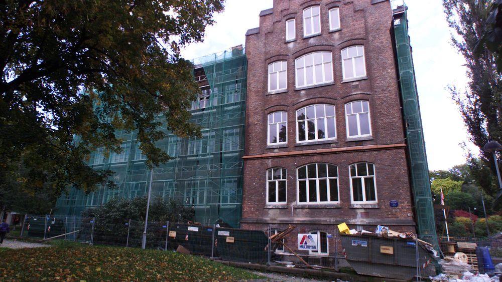 Lakkegata skole i Oslo er et av de mange gamle skolebyggene i byen som har vært gjenstand for en større oppgradering.