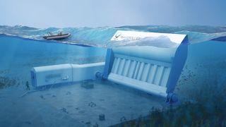 Den skal svinge i takt med vannet på 20 meters dyp og produsere strøm: – Godt egnet for Norge