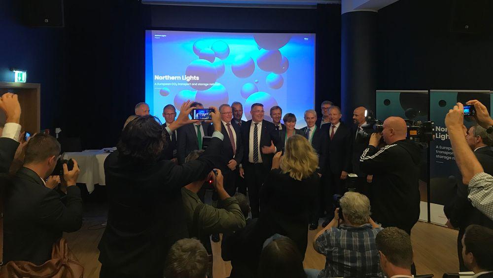 Equinor og partnerne i CO2-lagringsprosjektet har signert avtaler med syv industriselskaper i Europa med intensjonen å transportere og lagre CO2 til lageret i Nordsjøen.