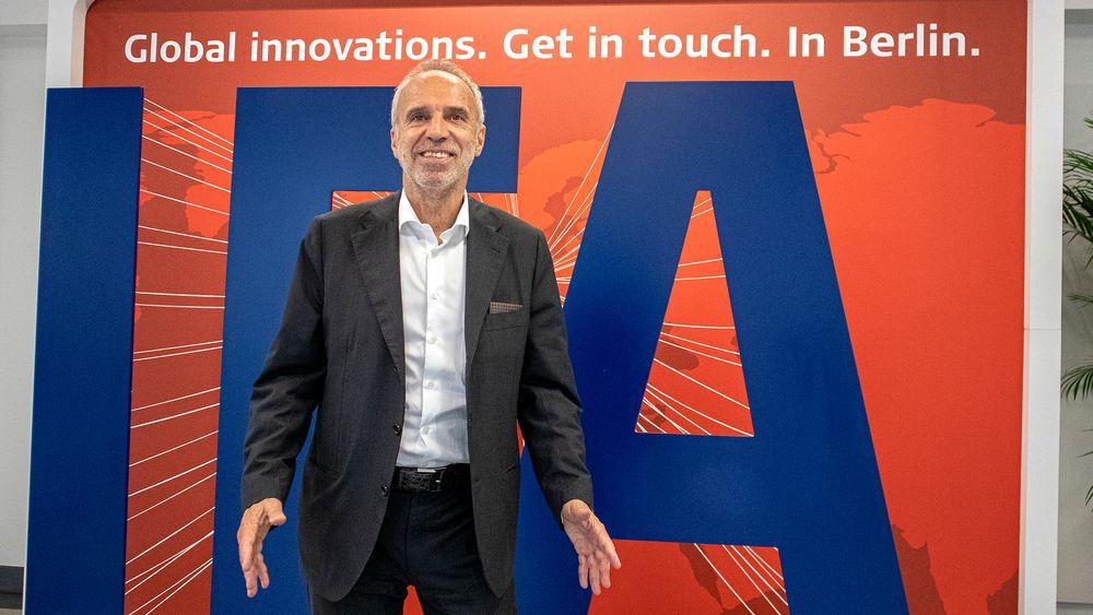 IFA-sjef: Hans-Joachim Kamp, er styreformann i det som kalles the supervisory board i GFU Consumer & Home Electronics GmbH. Det er organisasjonen som arrangerer IFA