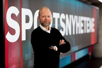Sportsredaktør Vegard Jansen Hagen i TV 2.