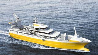 En av Norges største fiskebåter skal kunne gå på batteri i veldig korte perioder