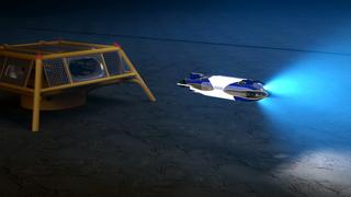 Den kan gå minst 20 mil på batteri og jobbe på 6.000 meters dyp i 6 måneder