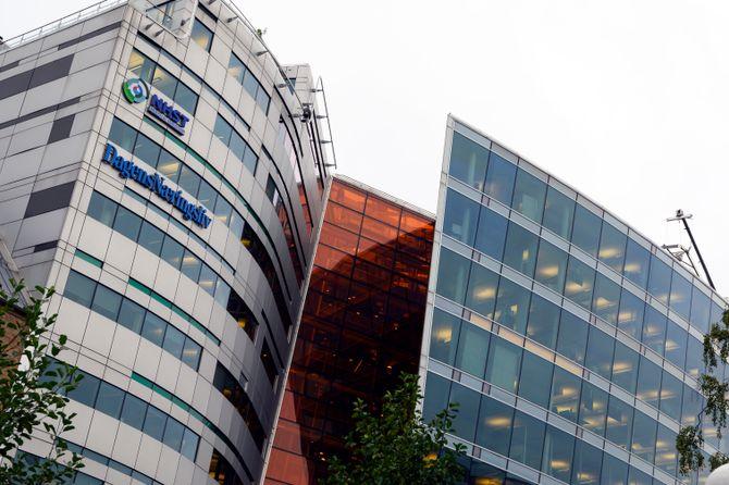 NHST Media Groups lokaler i Oslo, med blant annet Dagens Næringsliv og Morgenbladet.