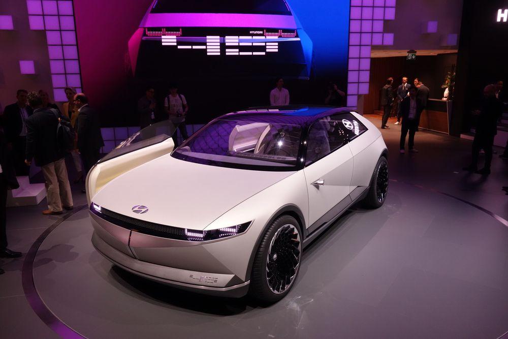 Hyundais konseptbil 45 ser du neppe på veien i denne formen.