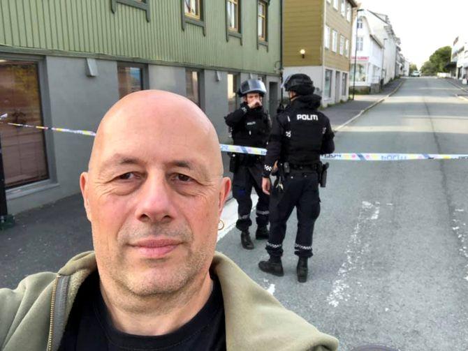 Leif Steinholt, journalist i Helgelands Blad.