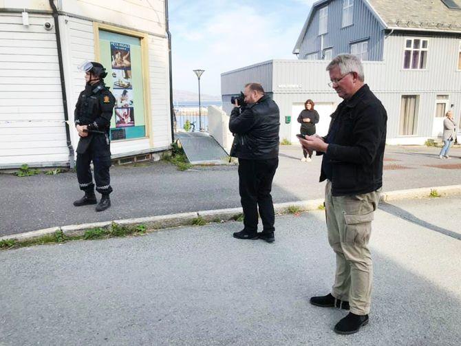 Ansatte ved Helgelands Blad er evakuert etter bombetrussel mot tingretten.