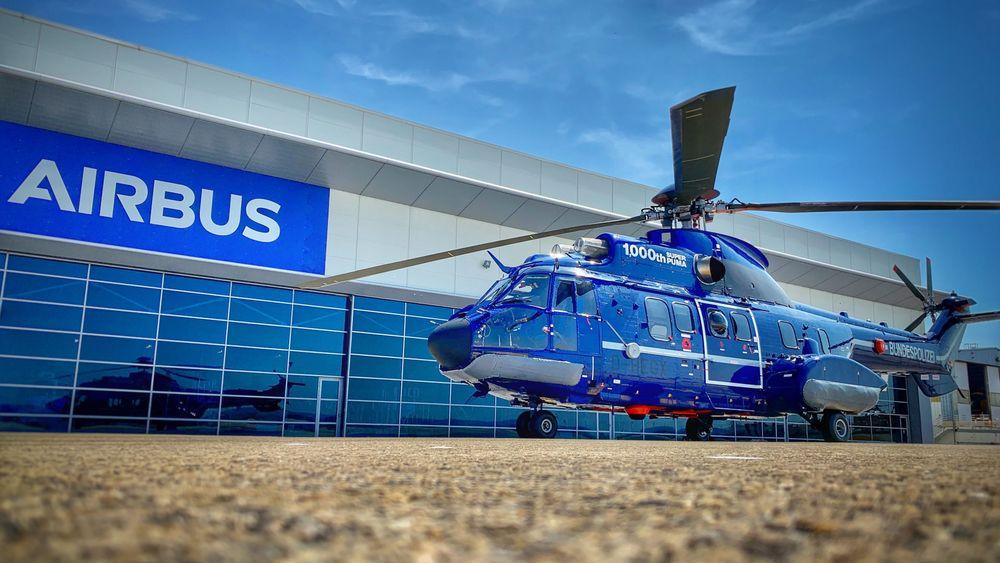 Et H215 til tyske Bundespolizei ble Super Puma nummer tusen. Helikopteret, som skal brukes av Havariekommando, ble levert tidligere i september.